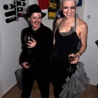 Halloween-kostymer: Mann og edderkoppdame