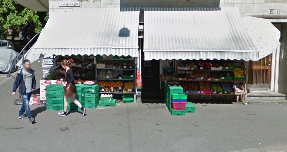 Det er butikker overalt. Skjermskudd: Google Maps