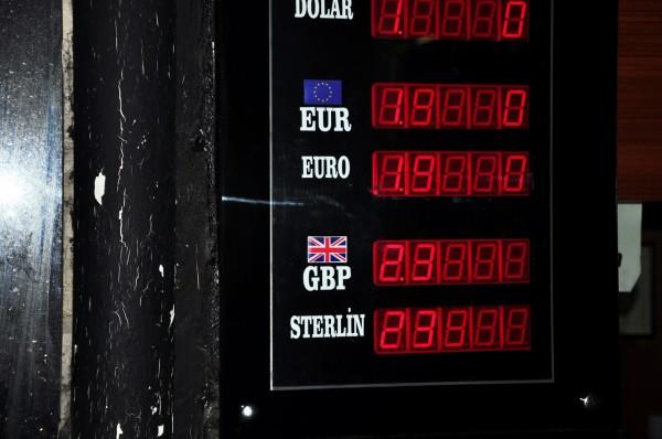 Dolar, sterlin (Istanbul)