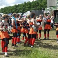 Frivillige på Roskilde Festival veit å lage liv